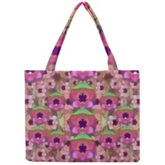 It Is Lotus In The Air Mini Tote Bag by pepitasart