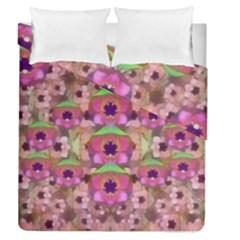 It Is Lotus In The Air Duvet Cover Double Side (queen Size) by pepitasart