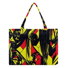 Easy Colors Abstract Pattern Medium Tote Bag