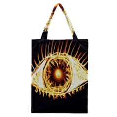 Flame Eye Burning Hot Eye Illustration Classic Tote Bag by Nexatart