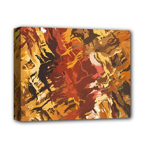 Abstraction Abstract Pattern Deluxe Canvas 14  X 11  by Nexatart