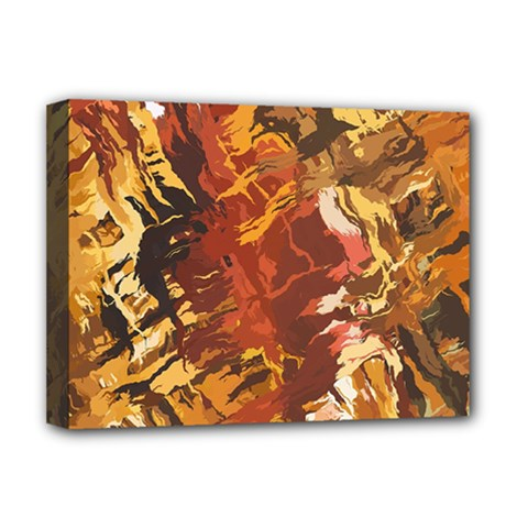 Abstraction Abstract Pattern Deluxe Canvas 16  X 12   by Nexatart