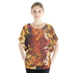 Abstraction Abstract Pattern Blouse