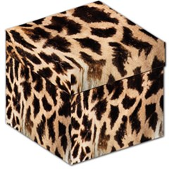 Giraffe Texture Yellow And Brown Spots On Giraffe Skin Storage Stool 12