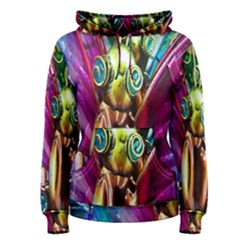 Magic Butterfly Art In Glass Women s Pullover Hoodie