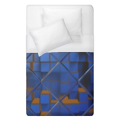 Glass Abstract Art Pattern Duvet Cover (single Size)