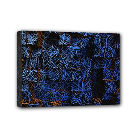 Background Abstract Art Pattern Mini Canvas 7  X 5