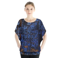Background Abstract Art Pattern Blouse