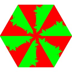 Critical Points Line Circle Red Green Mini Folding Umbrellas by Mariart