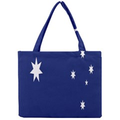 Flag Star Blue Green Yellow Mini Tote Bag by Mariart