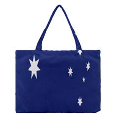 Flag Star Blue Green Yellow Medium Tote Bag by Mariart