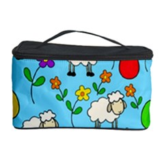 Easter Lamb Cosmetic Storage Case by Valentinaart