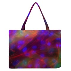 Vaccine Blur Red Medium Zipper Tote Bag by Mariart