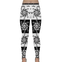 Three Wise Men Gotham Strong Hand Classic Yoga Leggings by Mariart