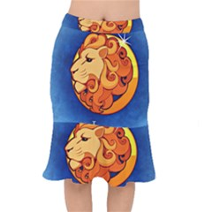 Zodiac Leo Mermaid Skirt by Mariart