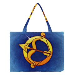 Zodiac Sagittarius Medium Tote Bag by Mariart