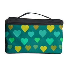 Hearts Seamless Pattern Background Cosmetic Storage Case