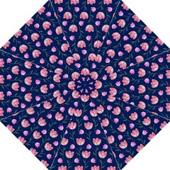 Watercolour Flower Pattern Straight Umbrellas by Nexatart