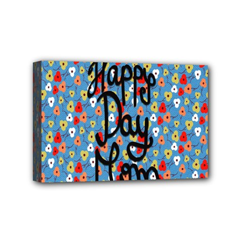 Happy Mothers Day Celebration Mini Canvas 6  X 4  by Nexatart