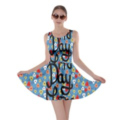 Happy Mothers Day Celebration Skater Dress