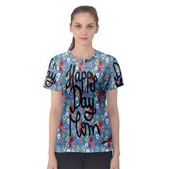 Happy Mothers Day Celebration Women s Sport Mesh Tee