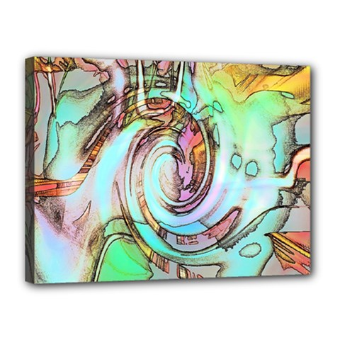 Art Pattern Canvas 16  X 12  by Nexatart
