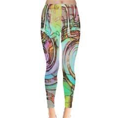 Art Pattern Leggings  by Nexatart