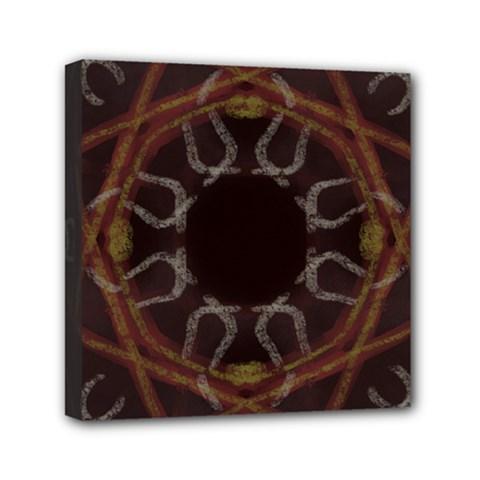 Digitally Created Seamless Pattern Mini Canvas 6  X 6  by Nexatart