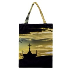Graves At Side Of Road In Santa Cruz, Argentina Classic Tote Bag by dflcprints
