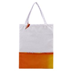 The Wine Bubbles Background Classic Tote Bag by Nexatart