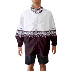 Bubbles In Red Wine Wind Breaker (kids)