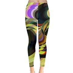 Spiral Of Tubes Leggings  by Nexatart