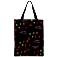 Cartoon Birthday Tilable Design Classic Tote Bag by Nexatart