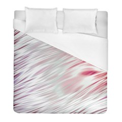 Fluorescent Flames Background With Special Light Effects Duvet Cover (full/ Double Size) by Nexatart
