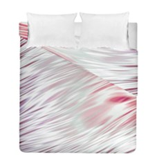 Fluorescent Flames Background With Special Light Effects Duvet Cover Double Side (full/ Double Size)