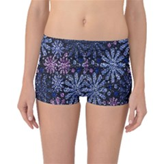 Pixel Pattern Colorful And Glittering Pixelated Boyleg Bikini Bottoms