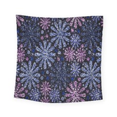 Pixel Pattern Colorful And Glittering Pixelated Square Tapestry (small) by Nexatart