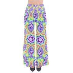 Rainbow Kaleidoscope Pants by Nexatart