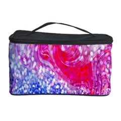 Glitter Pattern Background Cosmetic Storage Case