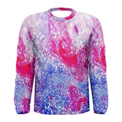 Glitter Pattern Background Men s Long Sleeve Tee