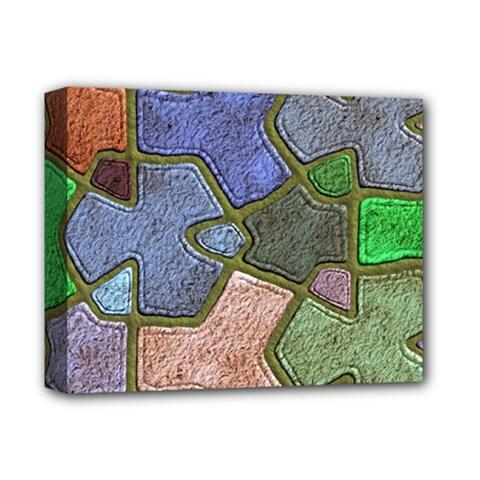 Background With Color Kindergarten Tiles Deluxe Canvas 14  X 11