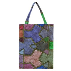 Background With Color Kindergarten Tiles Classic Tote Bag
