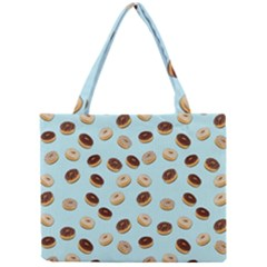 Donuts Pattern Mini Tote Bag by Valentinaart
