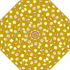 Cupcakes Pattern Folding Umbrellas by Valentinaart