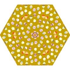 Cupcakes Pattern Mini Folding Umbrellas by Valentinaart