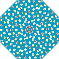 Cupcakes pattern Straight Umbrellas