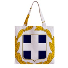 Greece National Emblem  Zipper Grocery Tote Bag by abbeyz71