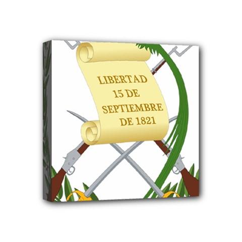 National Emblem Of Guatemala Mini Canvas 4  X 4  by abbeyz71