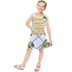 National Emblem Of Guatemala Kids  Tunic Dress by abbeyz71