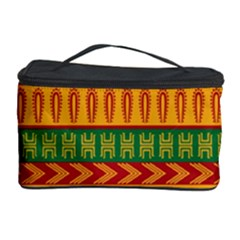 Mexican Pattern Cosmetic Storage Case by Onesevenart